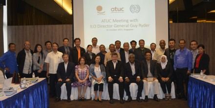ATUC meets ILO Director General Guy Ryder