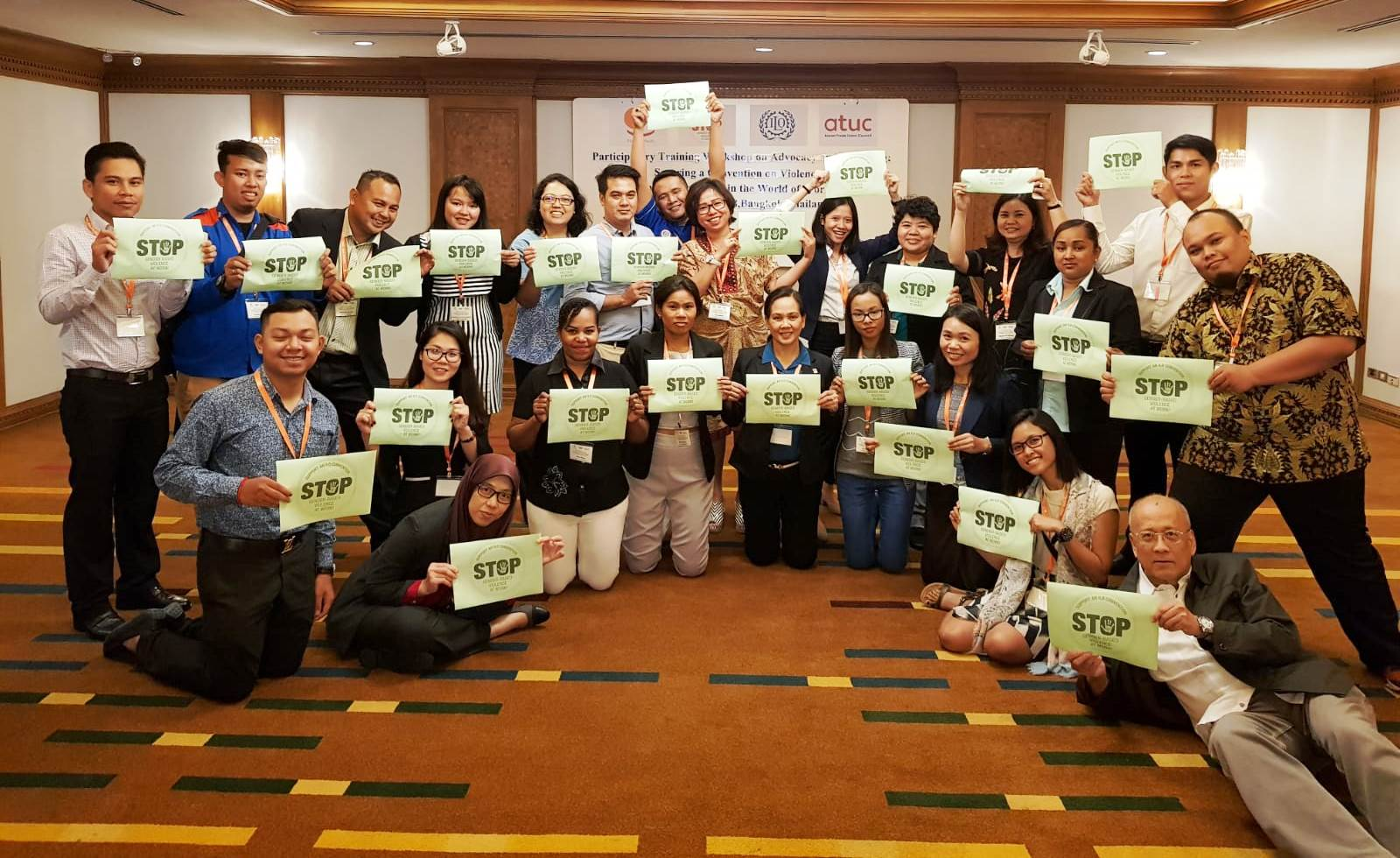 ituc-ap-atuc-advocacy training-gender-based-violence